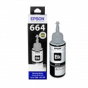 Hộp Mực in phun Epson T664 BK - Màu Đen - Hộp mực máy in Epson L310, L360