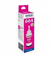 Hộp Mực in phun Epson T664 - Màu Đỏ - Hộp mực in Epson L360, L350, L365, L550, L605, L650, L655,L355