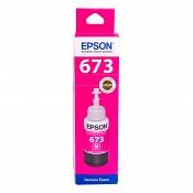 Hộp Mực in phun Epson T673 M - Màu Đỏ - Hộp mực in Epson L805/ L810 / L850/ L800 / L1800